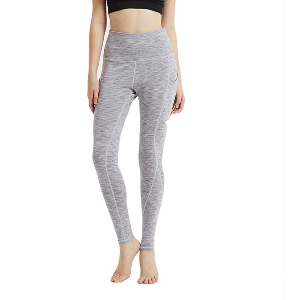 Damenhose Hochelastisch eng anliegend schnell trocknende schweißabsorbierende Beine Sport und Freizeit Laufen Fitness Yoga Hosen Fußhosen