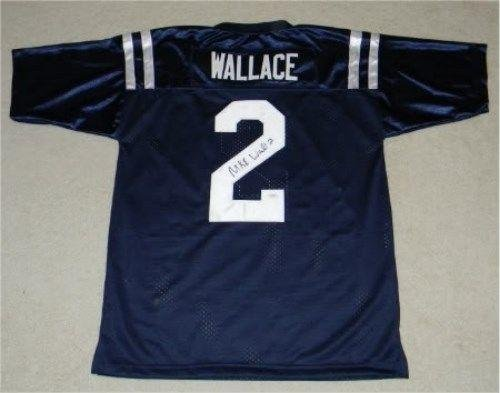 Mike Wallace Autographed Jersey - Mississippi #2 - JSA Certified - Autographed College Jerseys