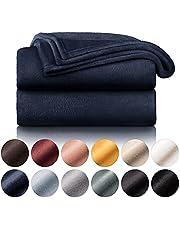 Blumtal fleece deken - hoogwaardige deken, zachte deken, microvezeldeken als bankhoes, sprei, plaid of woonkamerdeken