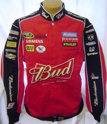 新しい。Chase Authentics Kasey Kahne Budweiser TwillジャケットXLT B07B2M6G2Q