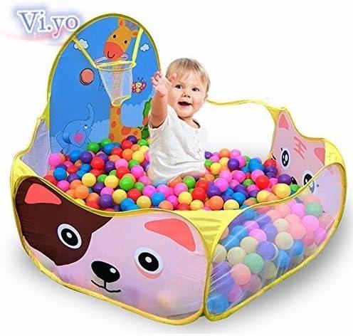 VI yo tentes plegables para ni/ños color OCEAN Ball piscina bolas de pl/ástico de color en juegos para ni/ños regalo beb/é 120/x 120/x 45/cm