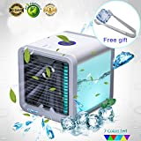 YACHANCE personal space air cooler portable air conditioner fan personal ac unit air cooler desk fan mini small ac unit cooling fan swamp evaporative cooler USB port Desktop Cooling Fan