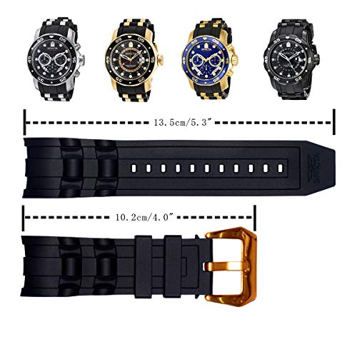 Vicdason Replacement Bands Watch Pro Invicta For With Strap Diver zpUVMS