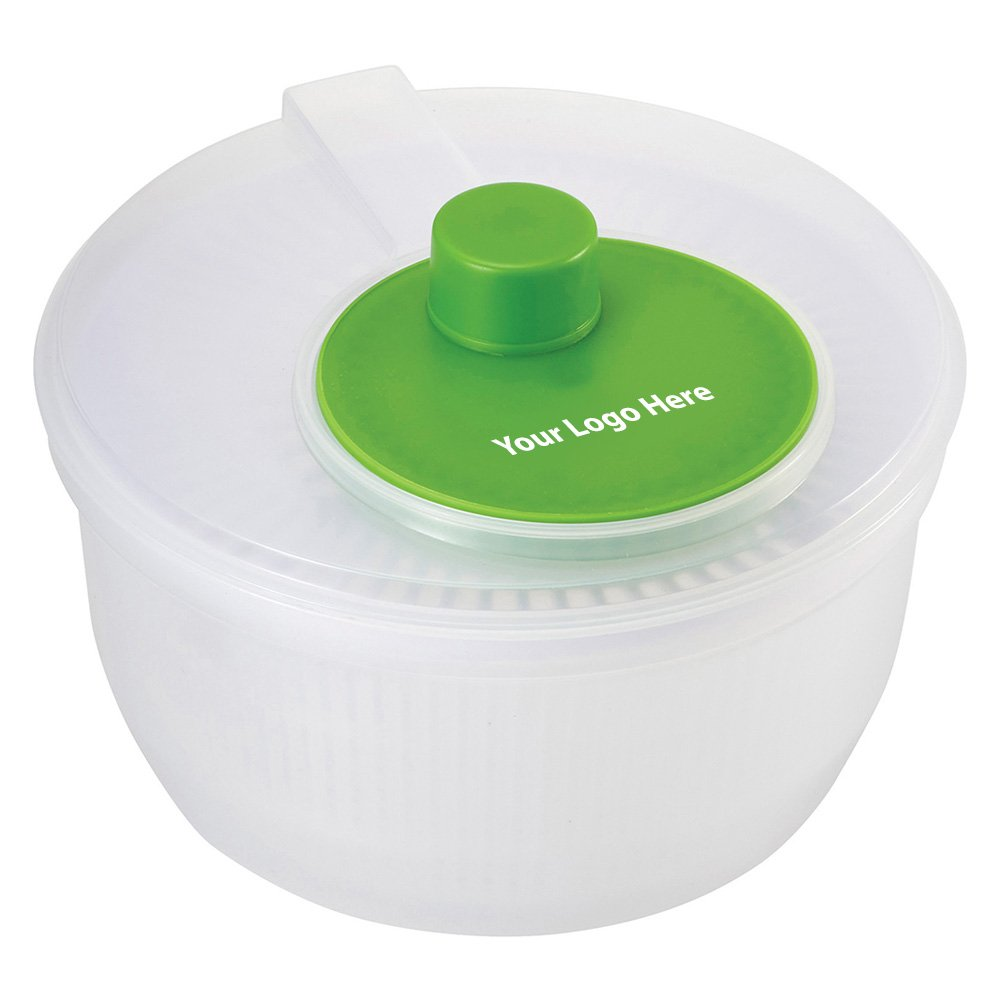 Color Dip Salad Spinner - 48 Quantity - $10.35 Each - PROMOTIONAL PRODUCT / BULK / BRANDED with YOUR LOGO / CUSTOMIZED