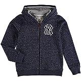 Majestic Athletic York Yankees Youth Size Large (14/16) Full Zip Hooded Sweatshirt
