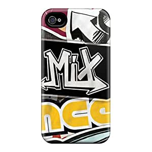 High Quality AlexLeroyDavis Hp Hop Wall 2 Skin Case Cover Specially Designed For Iphone - 4/4s