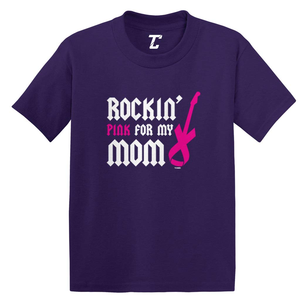 Rockin' Pink For My Mom Breast Cancer Infant T Shirt