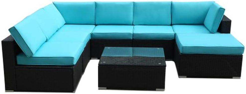 Free Amazon Promo Code 2020 for 8 Pieces Rattan Patio Furniture Set
