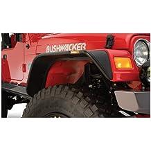 Bushwacker 10920-07 Jeep Flat Style Fender Flare - Set of 4