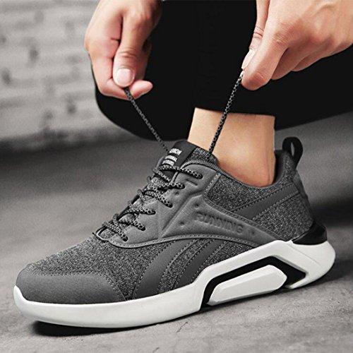 Trendige Jogging-Schuhe für Freizeit-Männer grey
