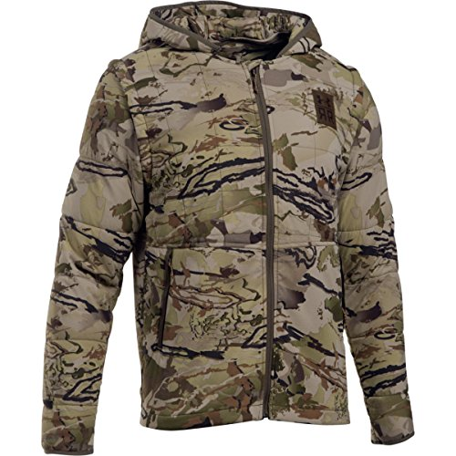 Under Armour Men's Ridge Reaper 23 Insulated 2-in-1 Jacket, Reaper Camo/Hearthstone, Medium