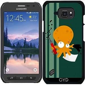 Funda para Samsung Galaxy S6 Active - Pulpo by Los dibujos de Alapapaju