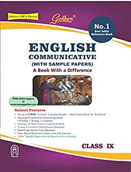 golden english communicative with sample papers a book with rh amazon in