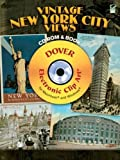 Vintage New York City Views CD-ROM and Book (Dover Electronic Clip Art)