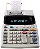 Sharp EL-1801V Ink Printing Calculator, Fluorescent Display, AC, Off-White