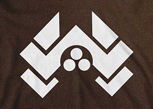 Arcane Store - Bolso al hombro de Algodón para hombre marrón
