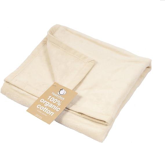 Hippychick manta de tela de algodón orgánico 100x150cm - Natural orgánico: Hippychick: Amazon.es: Bebé