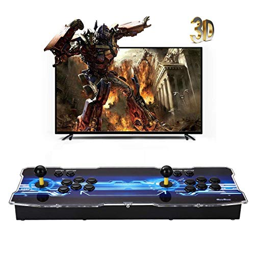 [2350 HD Retro Games] 3D Pandoras Box Arcade Video Game Console 1080P Game System with 2350 Games Supports 3D Games (Black) 1920x1080 by TanDer (Image #1)