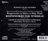 Victoria: Responsories for Tenebrae