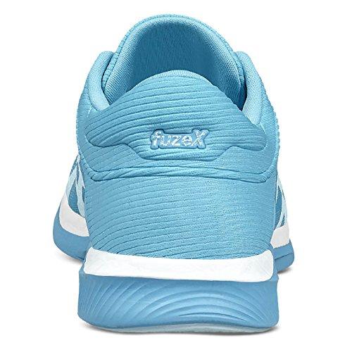 Asics Fuzex Rush, Zapatillas de Deporte para Mujer azul / blanco