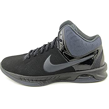 Nike Air Visi Pro Vi Nubuck Men's Basketball Shoes, Blackanthracite, Size 9.5 4