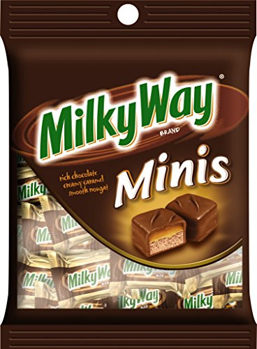 (MILKY WAY Milk Chocolate Minis Size Candy Bars 3-Ounce Bag (Pack of 12))