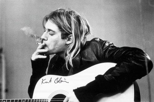 GB Eye Kurt Cobain Smoking Poster (Blink 182 All The Small Things Rock Band)