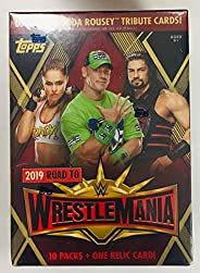 2019 Topps Road to Wrestlemania WWE Value Box (2019 Topps Road to Wrestlemania WWE Value Box)