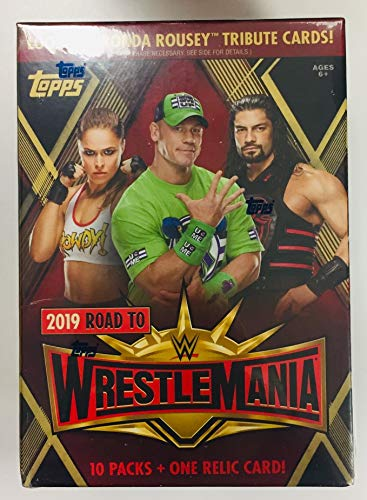 (Topps 2019 WWE Road to Wrestlemania Value Box)