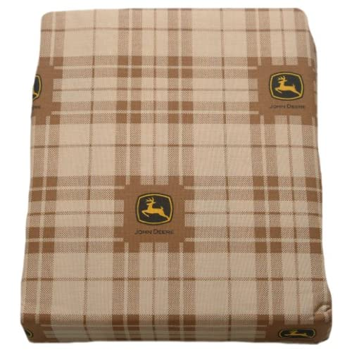 Top John Deere Bedding Traditional Tractor and Plaid Collection, 3-Piece Sheet Set, Twin Size hot sale