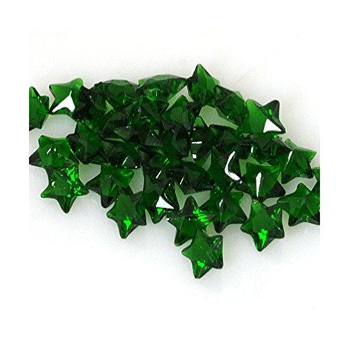 "Pendentif Andante FLOATING CHARMS - Pierres précieuses ""Étoiles"" (Vert émeraude)"
