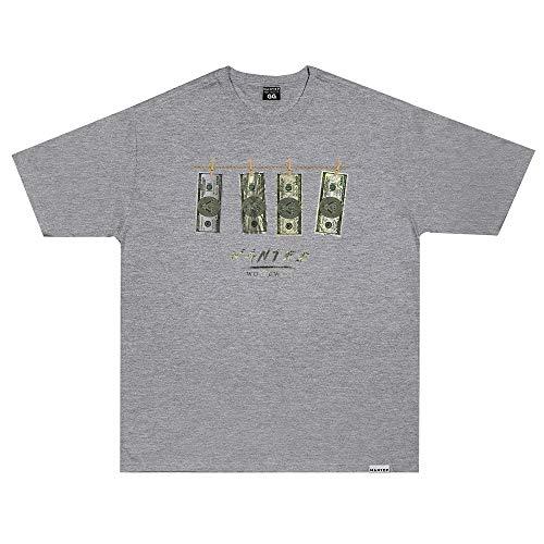 Camiseta Wanted - Dollar Cinza Cor:Cinza;Tamanho:XG