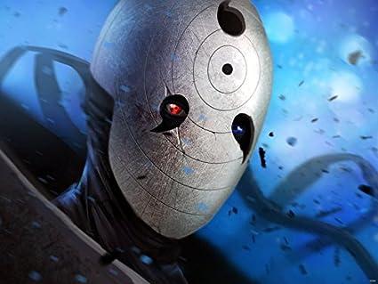 SV6364 Obito máscara Naruto Uchiha Carcasa de personajes de Manga japonés 24 x 18 Manga Art