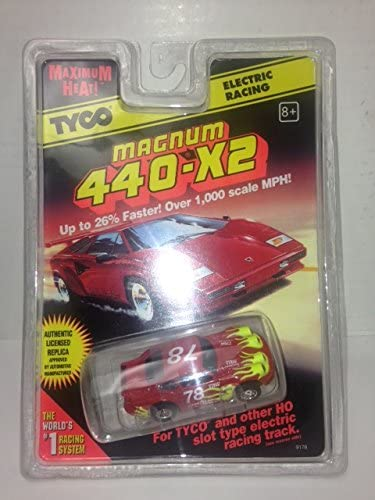 TYCO HO Scale 440x2 Porsche #78 Slot Car