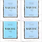 Warchal Brilliant Cello String Set - Synthetic Core - Medium Gauge