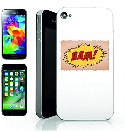 Smartphone Case testa Riga di intestazione della scrittura del Treno D annata Bam poster Motto Retro Comic per Apple Iphone 4/4S, 5/5S, 5C, 6/6S, 7& Samsung Galaxy S4, S5, S6, S6Edge, S7, S7Edg