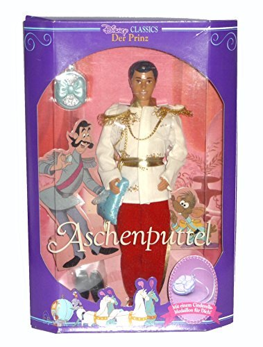 Cinderella Prince Charming Disney Classic with Shoe and Locket (1991) ()