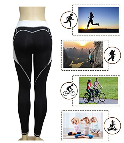 CYMF Skinny Sport Leggings Yoga Pants Capri Exercise Workout Leggings Gym Compression