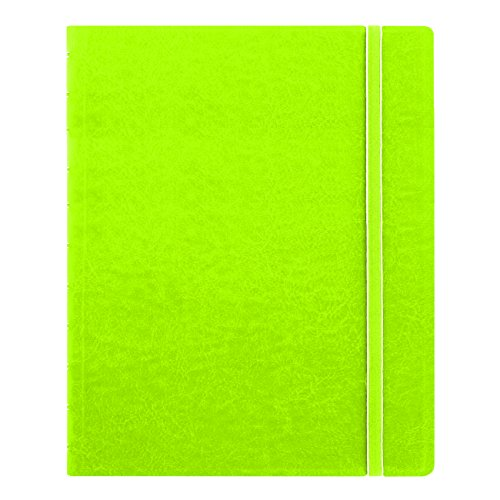"Filofax Letter Size Notebook, 10.875"" x 8.5"", 112 Ruled Pages, Pear (B115107U)"