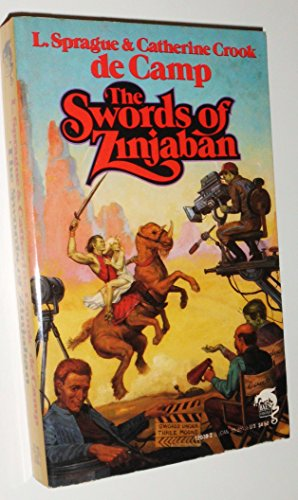 book cover of The Swords of Zinjaban