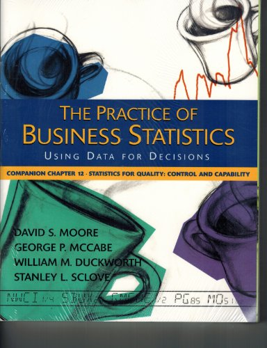 The Practice of Business Statistics Companion Chapters Set