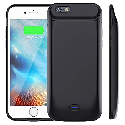 7200 mAh Battery Case for iPhone 6S Plus/6 Plus, Vproof Rechargeable External Battery Portable Power Charger Protective Charging Case for Apple iPhone 6 Plus,6S Plus(5.5 Inch)