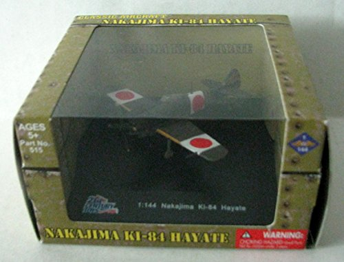 21st Century Toys Vehicles (21st Century Toys Classic Aircraft Nakajima KI-84 Hayate 1:144 Scale)