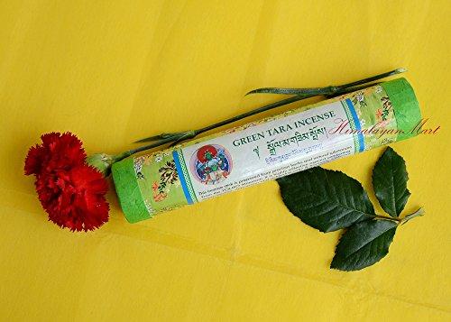 - Green Tara Tibetan Buddhist Incense - Resins-Natural Herbal-Handmade Nepal