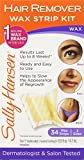 Sally Hansen Wax Strip Kit Brow/Face/Bikni