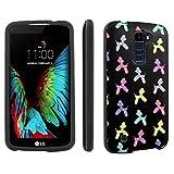 LG [Premier] [K10] [Skinguardz] [Black] Front & Back POP Design Hard Case - [Black Balloon Dog] for LG [K10] [LG Premier LTE L62VL L61AL]