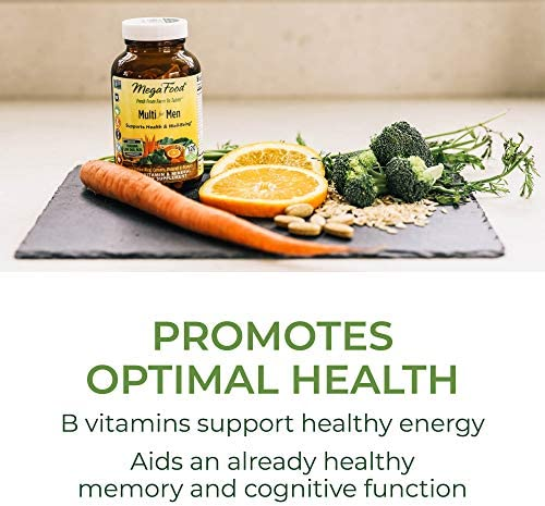 MegaFood, Multi for Men, Supports Optimal Health and Wellbeing, Multivitamin and Mineral Dietary Supplement, Gluten Free, Vegetarian, 120 tablets (60 servings) 3