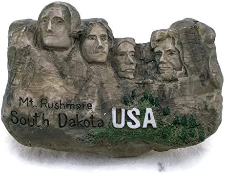 MT. Rushmore South Dakota USA Souvenir imán para nevera juguete ...