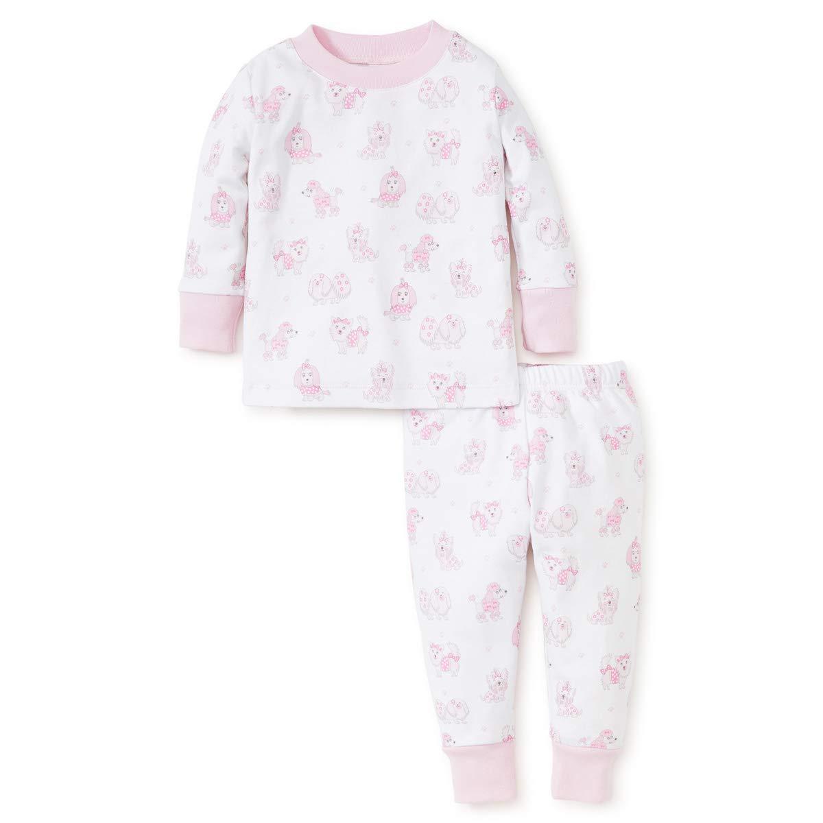 Kissy Kissy Baby Girls Pj Fall 18 Pooches Print Pajama Set