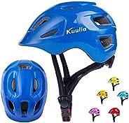 Kids Helmet Bike Helmet Adjustable Cycling Helmet Lightweight Child Helmet for 3-14 Years Old Boys Girls Teens